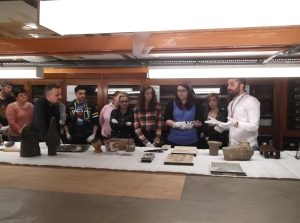 University of Manchester world archaeology seminar at Manchester Museum, 2014.